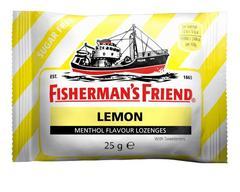Мятные леденцы Fisherman's Friend со вкусом лимона 25 грамм
