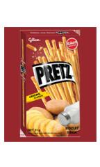 """Хлебные палочки """"Pretz"""" со вкусом запечённой картошки 23 гр"""