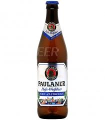 Пиво Paulaner Вайссбир светлое нефильтр. б/а стекло 500 мл