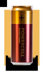 Напиток энергетический Powercell Original (Вишня) 450 мл