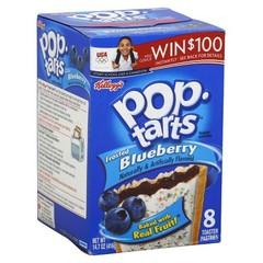 Печенье Pop Tarts 8 PS Frosted Blueberry 416 грамм