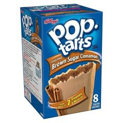 Печенье Pop Tarts 8 PS Frosted Brown Sugar Cinnamon 397 грамм