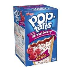 Печенье Pop Tarts 8 PS Frosted Raspberry с малиной 416 грамм