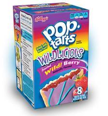 Печенье Pop Tarts 8 PS Frosted Wild! Berry с начинкой из лесных ягод 430 грамм
