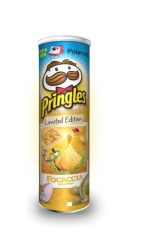 Чипсы Pringles Limited Italian Focaccia 200 гр
