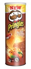 Чипсы Pringles с острой паприкой и чили 190 грамм