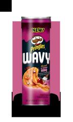 Чипсы Pringles рифленые с соусом острого барбекю 137 гр