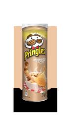 Чипсы Pringles Грибы в сливочном соусе 165 гр