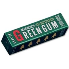 Жевательная резинка LOTTE GREEN GUM 31 грамм