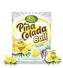 Конфеты Lutti Pina Colada Ball 120 грамм