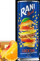 Напиток сокосодержащий б/а Rani Коктейль с кусочками персика 240 мл