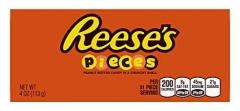 Драже в шоколадной глазури Hershey's Reese's с арахисовой пастой 113 грамм