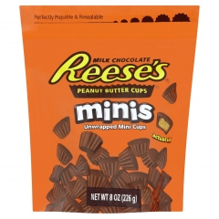 Шоколадные мини тарталетки Hershey's Reese's с арахисовой пастой 226 грамм