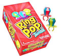 Карамель кольцо Ринг Поп RING POP 14 грамм