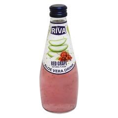 Aloe vera drink Red Grape Flavor 'Алое вера с ароматом красного винограда' 290 мл