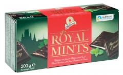 Шоколад Halloren Royal Thins с мятной начинкой 200 гр