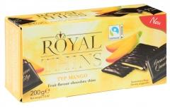Шоколад Halloren Royal Thins с начинкой манго 200 гр