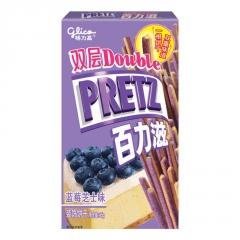 Хлебные палочки Pretz со вкусом черники и пирога 45 грамм