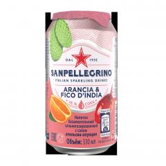 Напиток San Pellegrino Апельсин Опунция 330 мл ж/б