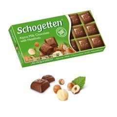 Молочный шоколад Schogetten Alpine Milk Hazelnut 'Фундук' 100 грамм