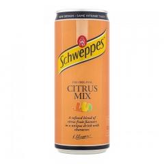 Напиток Schweppes Citrus Mix Sleek 330 мл