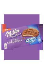 Печенье Milka Sensations Oreo creme 156 гр