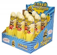 Жидкая конфета Спрей-банан 50 гр