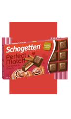 Молочный шоколад Schogetten PERFECT корица и сливочный крем 100 гр
