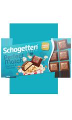 Молочный шоколад Schogetten PERFECT с воздушной кукурузой и карамелью 100 гр