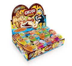 "Шоколадно-ореховый крем ""Сердечки"" Choco 15 грамм"