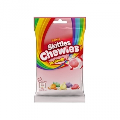Драже жевательные Skittles Chewies без скорлупы 125 гр