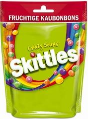 Драже жевательное Skittles Сумасшедшие кислые 160 гр