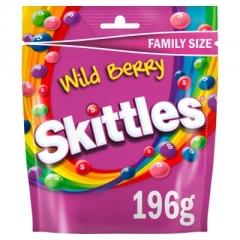 Драже Skittles Wild Berry 196 гр