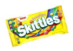 Жевательная конфета Skittles Brightside 56 грамм