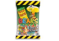Жевательный мармелад с кислинкой Toxic Bears 142 грамма
