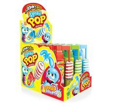 Жидкая конфета-спрей и леденец Spray Pop Johny Bee 25грамм