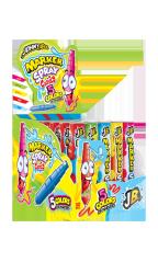 Жидкая конфета-спрей Johny Bee с маркером 5 цветов 8,45 гр