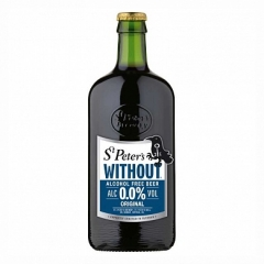 Пиво St. Peter's Without темное б/а 500 мл