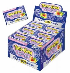Жевательная резинка Канди Клаб Тату-Бум Super Style со вкусом тутти-фрутти 12 гр