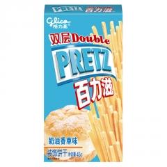 Хлебные палочки «Pretz» со вкусом ванили и сливок 45 грамм