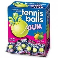 """Жевательная резинка FINI """"Теннисные мячики""""с начинкой лимон-лайм 5 гр"""