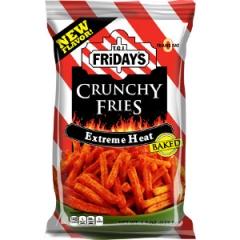 Хрустящий картофель фри Fridays Extreme Heat Crunchy Fries 127 грамм