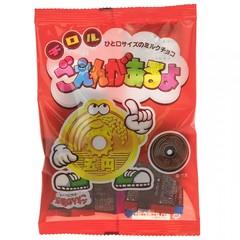 Шоколадные монетки TIROL Goenga Aruyo 5 иен 40 грамм