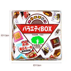 Шоколад TIROL ассорти в подарочной упаковке 27 штук 182 грамм