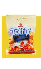 Жевательные конфеты Elvan Toffix Апельсин 90 гр