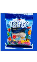 Жевательные конфеты Elvan Toffix Микс 90 гр
