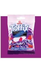 Жевательные конфеты Elvan Toffix Вишня 90 гр