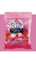 Жевательные конфеты Elvan Toffix Клубника 90 гр