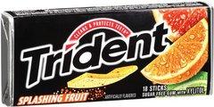 Trident Gum Splashing Fruit