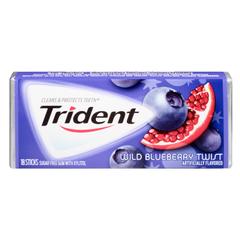 Trident Gum Blueberry Twist